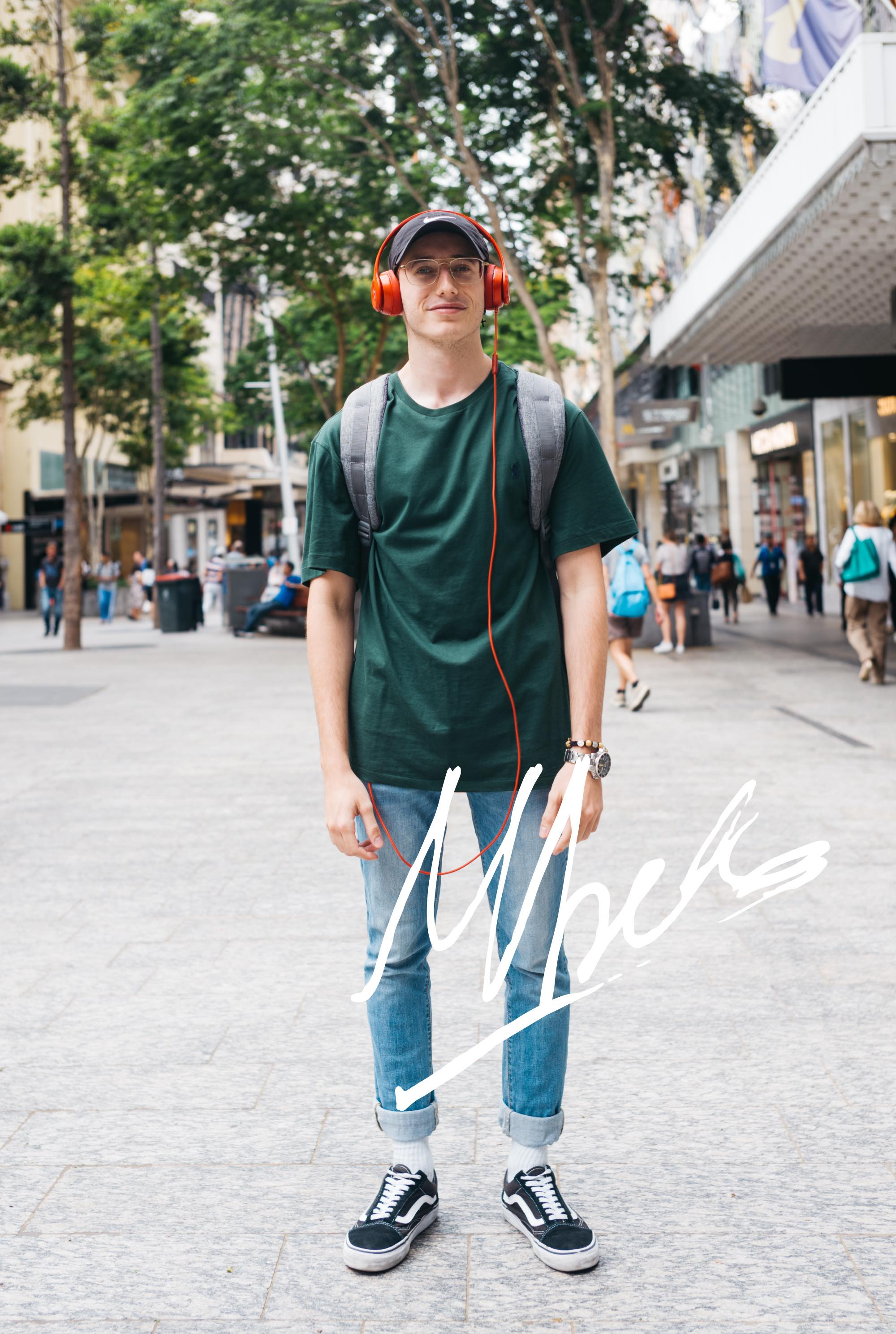 音楽とダンスの大学生。ブリスベンで出会ったMatthewさんの愛用品|things.004