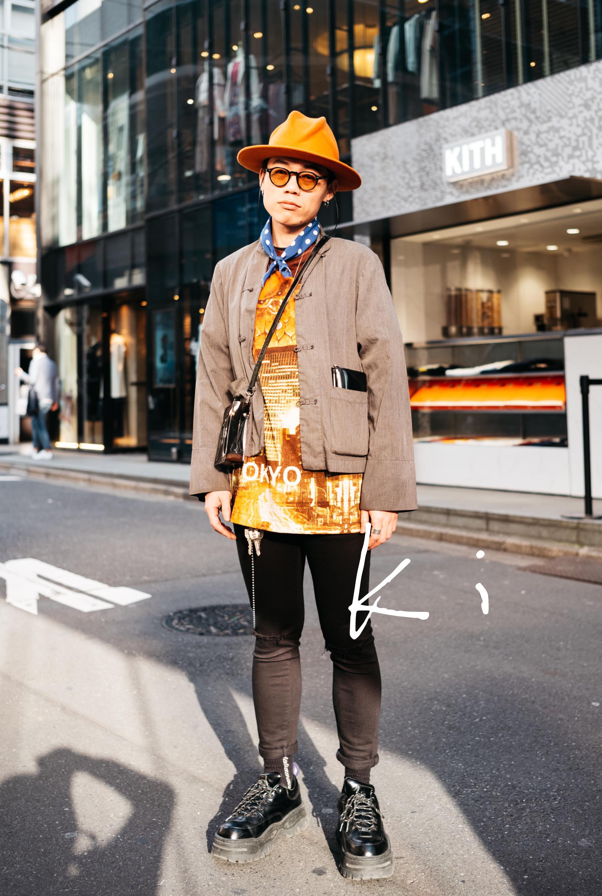 渋谷で出会ったお洒落な中国人デザイナーKiさんのお気に入り|things.011