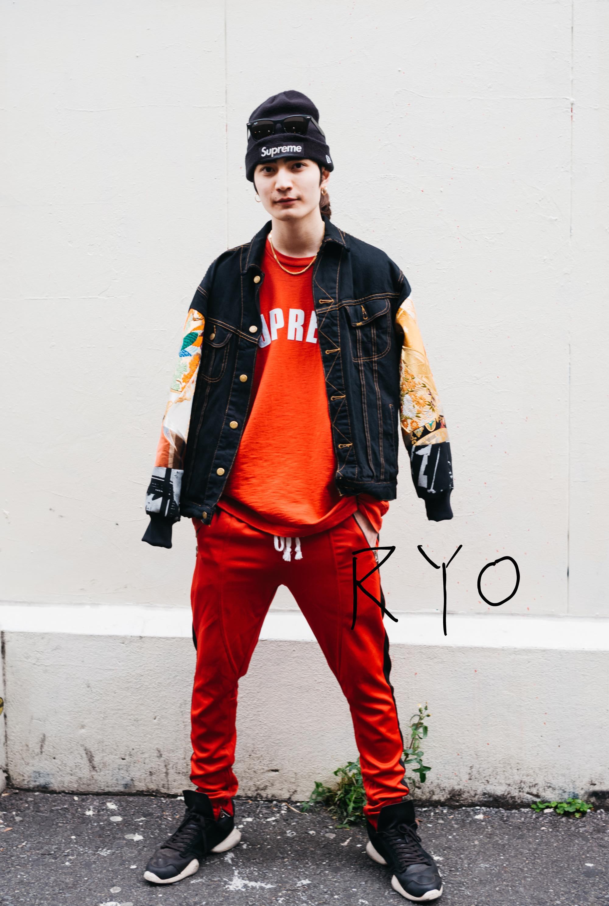 服と音楽とSupreme。24歳ショップスタッフ&モデルのRYOさんのこれがないと生きていけないモノ|things.026